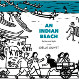 An Indian Beach By Day and Night